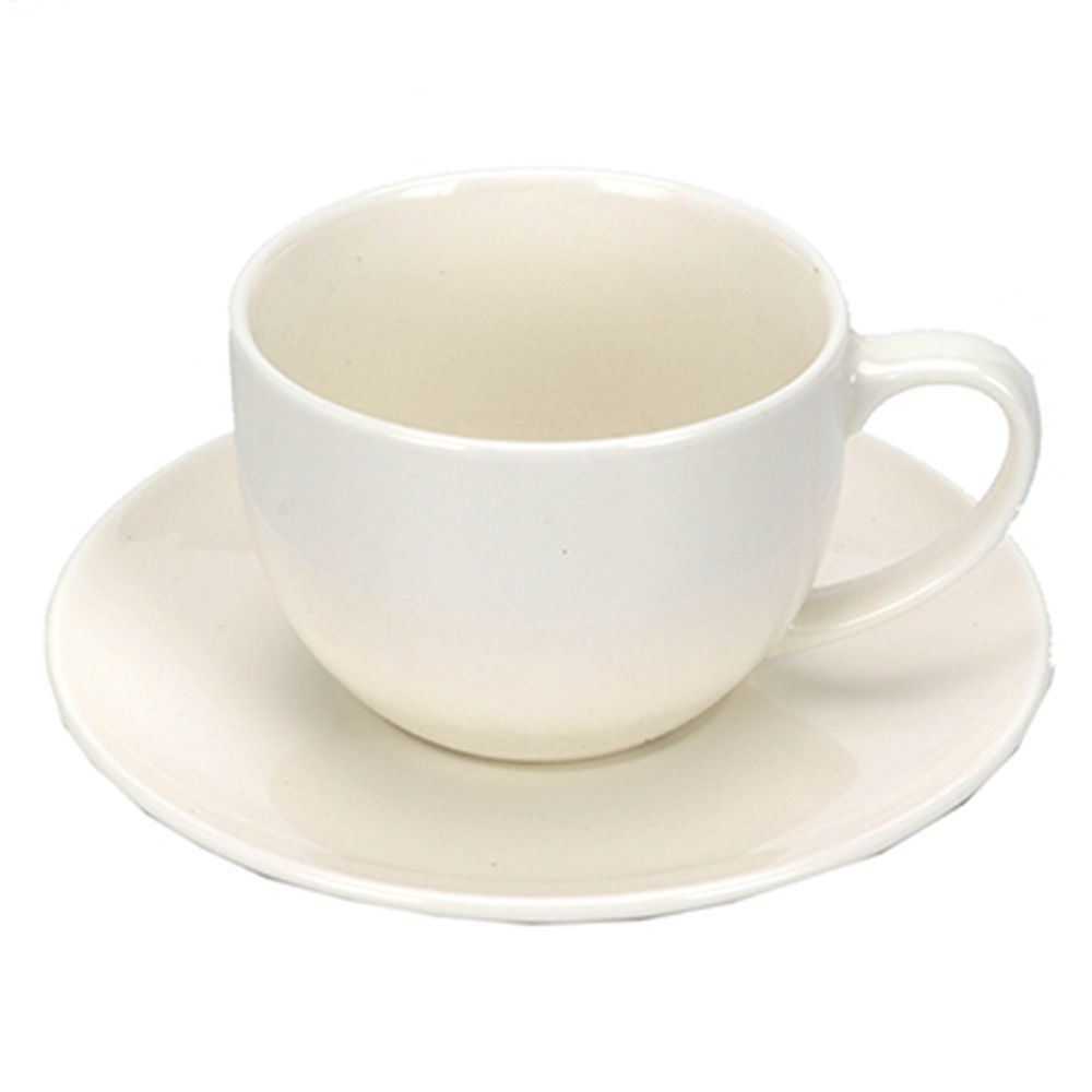 Набор чайный 2 пр. кружка 250мл + блюдце6см, керамика