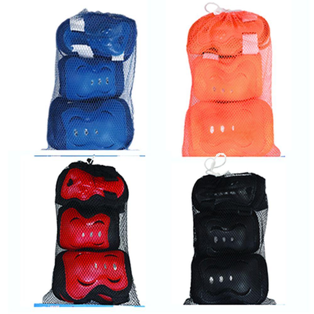 Набор защиты (колени, локти, запястья), размер M, 4 цвета, арт.LF-0220