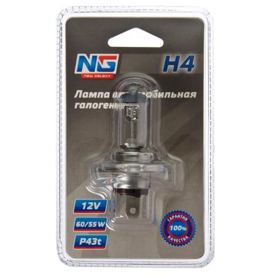 NEW GALAXY Лампа автомобильная галогеновая (тип лампы H4) (тип цоколя P43t) 12V, 1шт