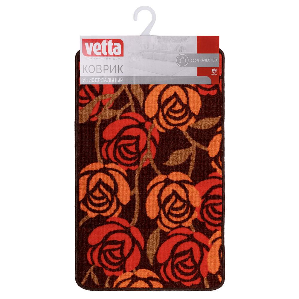 """VETTA Коврик в прихожую """"Цветочный сад"""", полиэстер, 48x78см, 4 дизайна"""