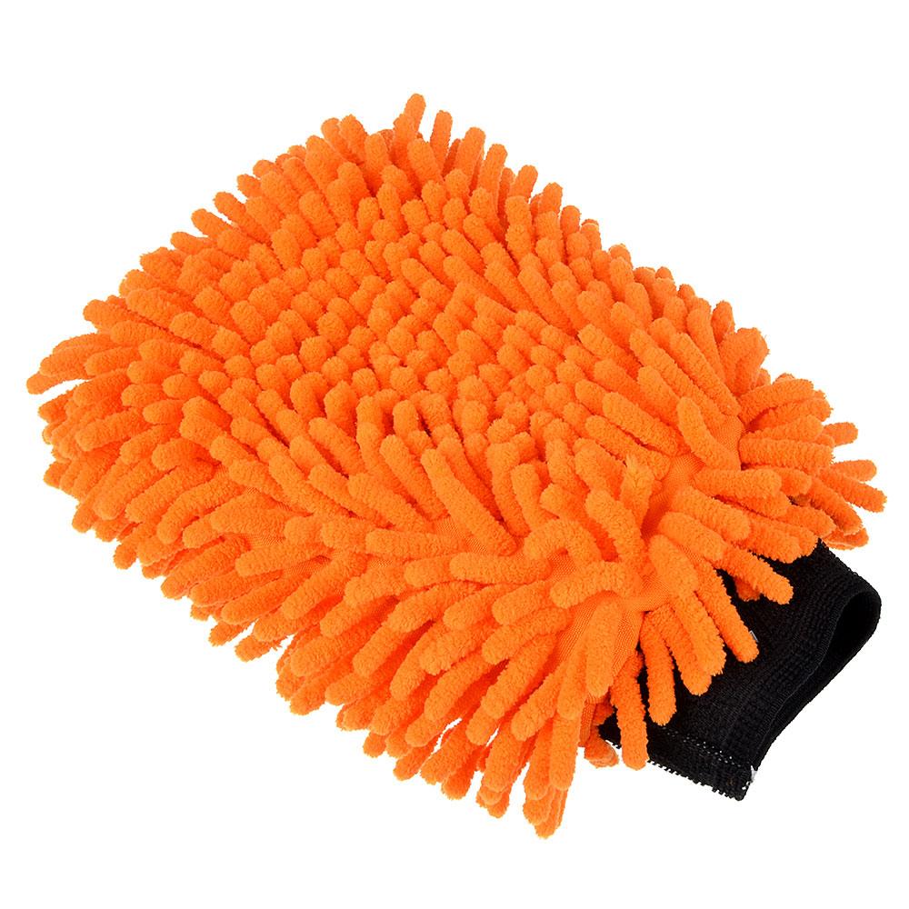 NEW GALAXY Варежка для мытья автомобиля из микрофибры, 27х20см, Double Chenille