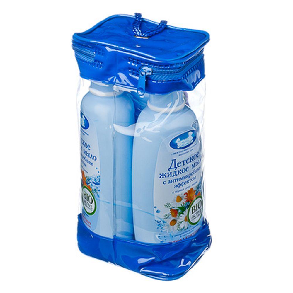 Набор 2+1 (в подарок) Наша мама детское жидкое мыло с антимикробным эффектом, арт.7044
