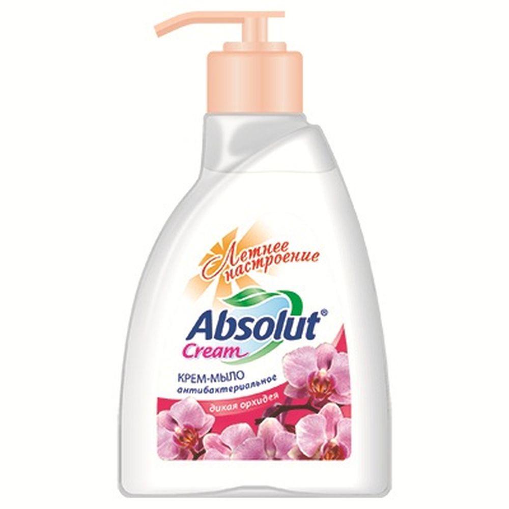 Мыло жидкое Absolut CREAM дикая орхидея п/б 250мл арт.5109