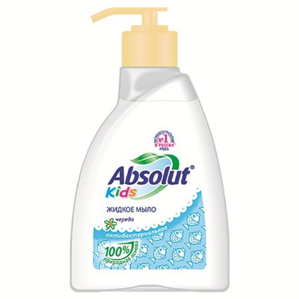 Мыло жидкое Absolut KIDS череда п/б 250мл арт.5060