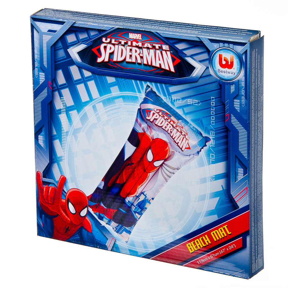 BESTWAY Матрас для плавания 119х61см, Spider-Man, арт.98005