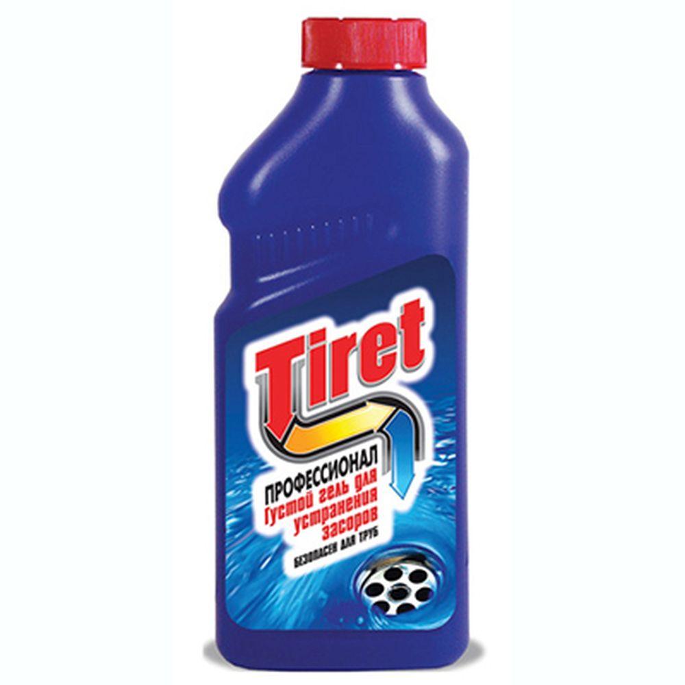 Средство чистящее-гель для чистки труб TIRET профессионал п/б 500мл