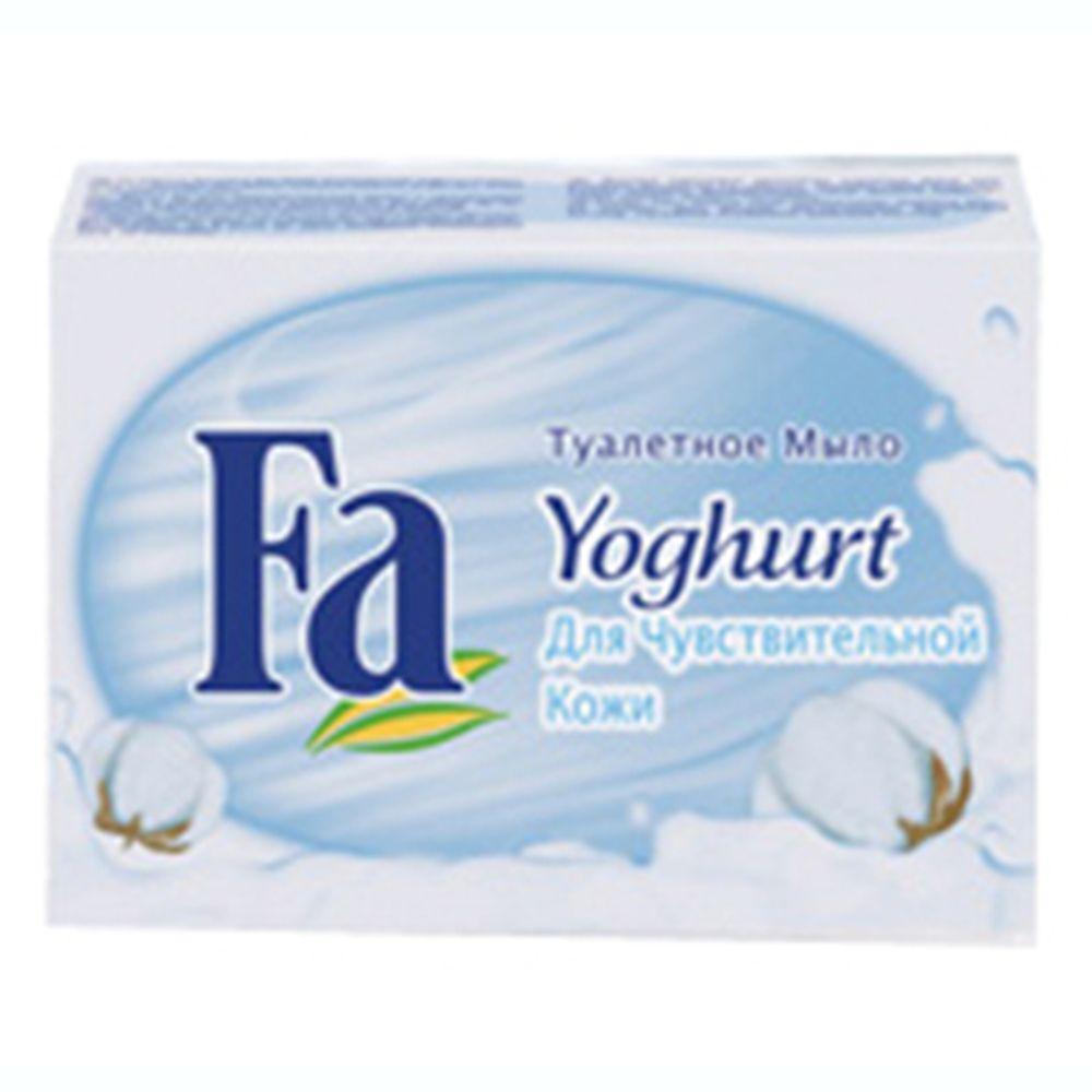 Мыло твердое Fа Yoghurt для чувствительной кожи к/у 90г