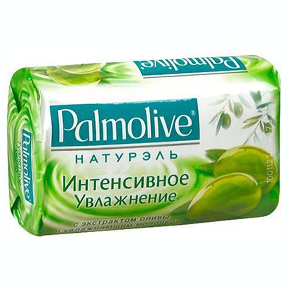 Мыло твердое Palmolive Интенсивное увлажнение с экстрактом оливы и увлажняющим молочком к/у 90г