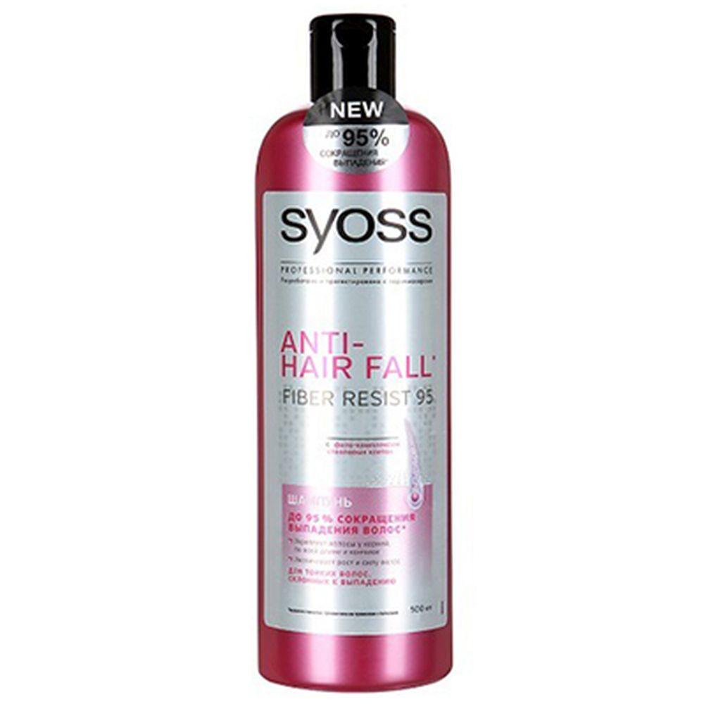Шампунь SYOSS ANTI-HAIR FALL для тонких волос склонных к выпадению п/б 500мл