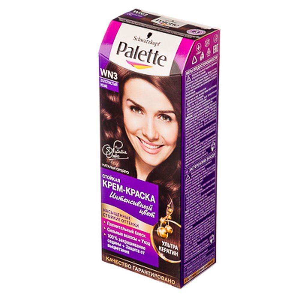 Краска для волос Palette WN3 Золотистый кофе к/у 100 мл 2114775