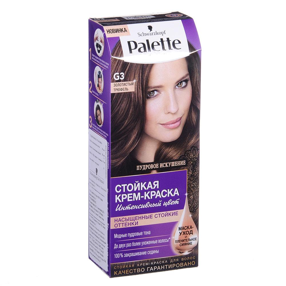 Краска для волос Palette ICC LG5 Темная карамель/ICC G3 Золотистый трюфель, к/у 100мл/110мл, 2096729