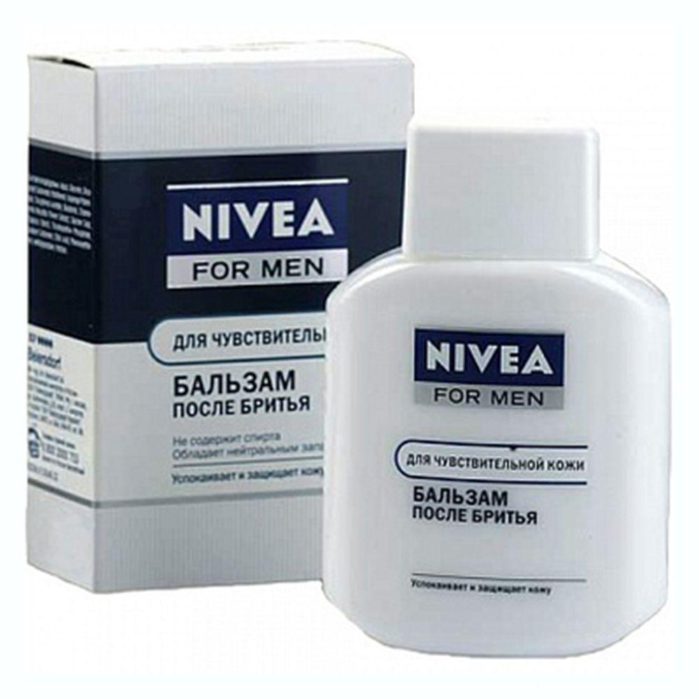 Бальзам после бритья NIVEA для чувствительной кожи с/б 100мл