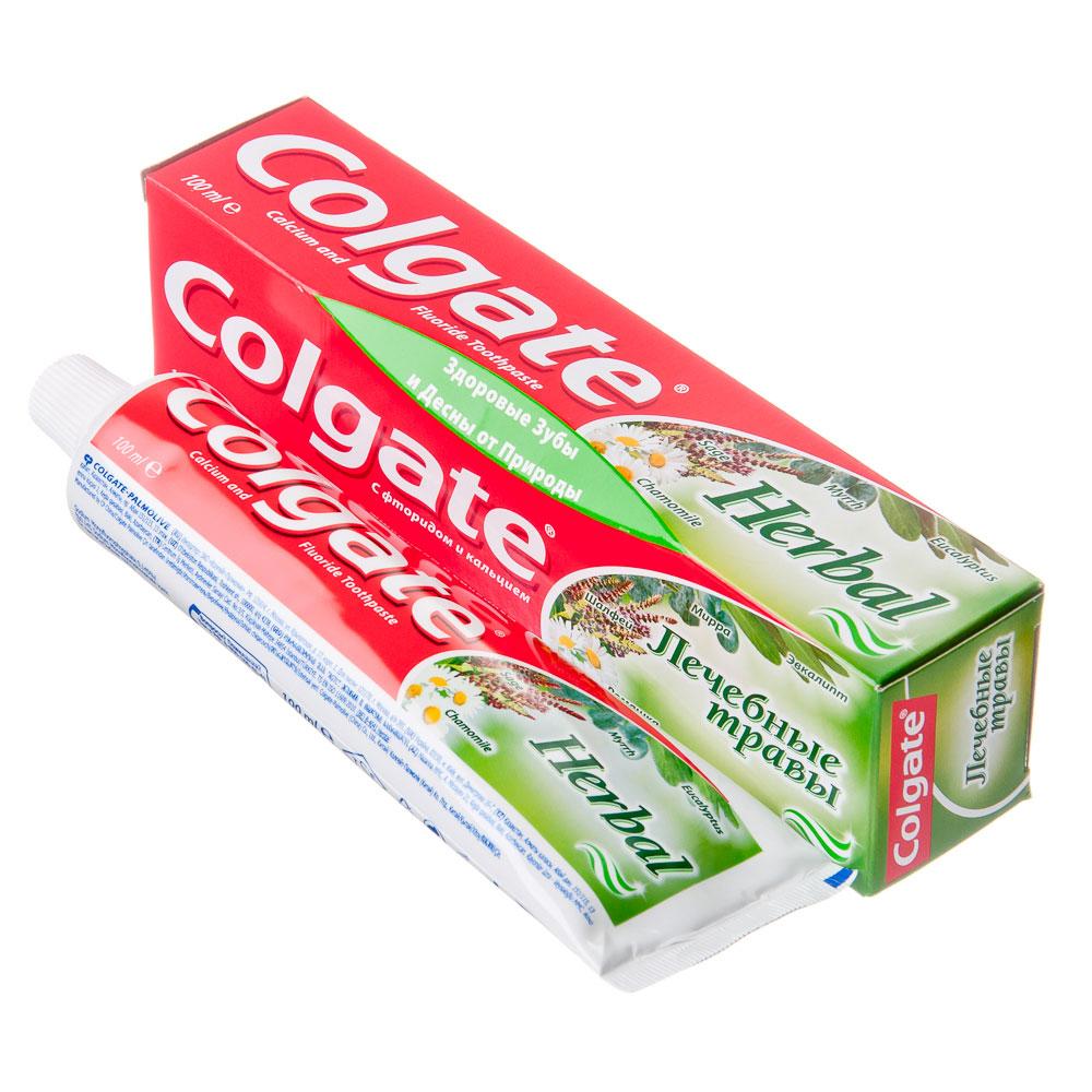 Зубная паста COLGATE Лечебные травы туба 100мл,арт.188189281