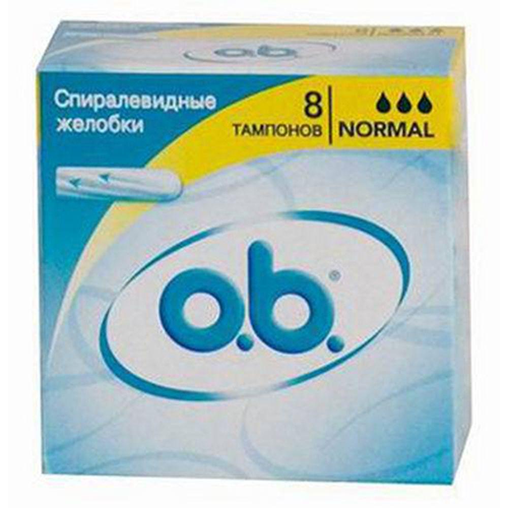 Тампоны o.b. Original нормал к/у 8шт