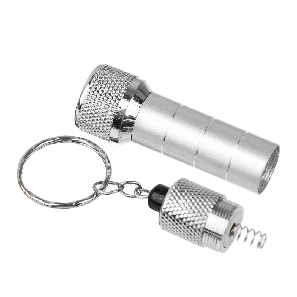 ЧИНГИСХАН Фонарик-брелок 5 LED, 3хLR44, алюминий, 6,7х1,2 см