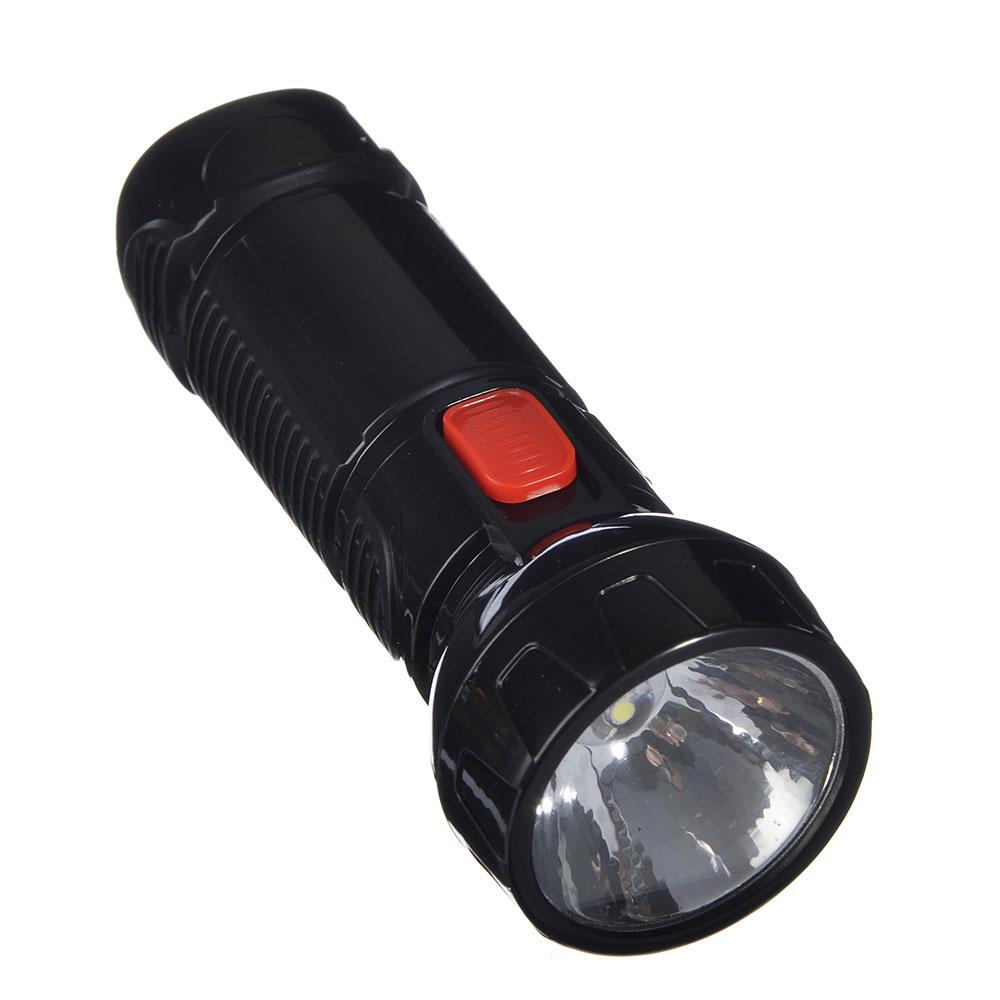 ЧИНГИСХАН Фонарь аккумуляторный 0,5 Вт LED, вилка 220В, пластик, 11,5x4,3см