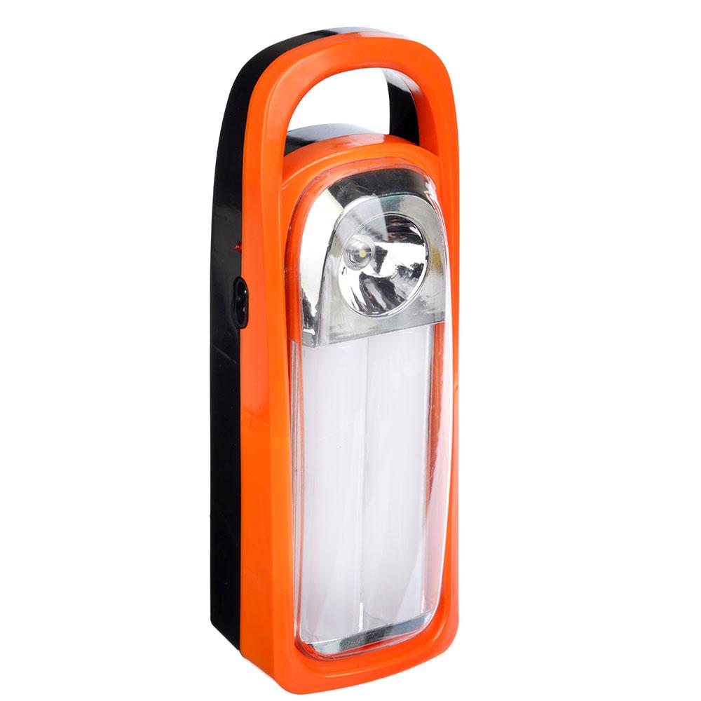 ЧИНГИСХАН Фонарь-светильник 28 ярк. + 0,5 Вт LED, 3xD / шнур 220В, пластик, 25,5x8,5 см