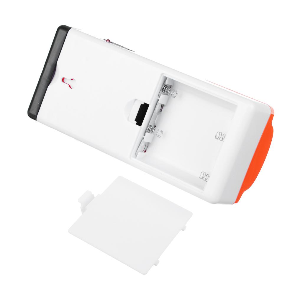 ЧИНГИСХАН Фонарь аккумуляторный переносной, пластик, 28+1LED, 16x5x7см питание 4xAA, 220В, 50гц