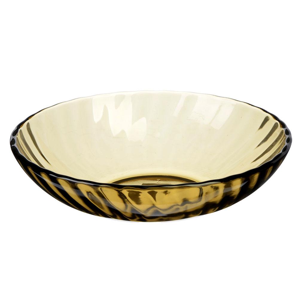 """Тарелка стеклянная глубокая d. 19 см, """"элика"""""""