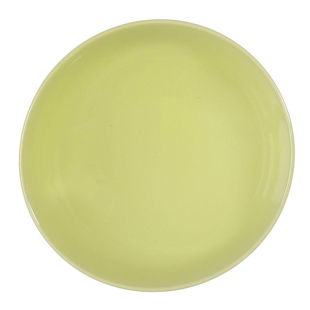 """Салатник керамический, 14 см, лайм, дизайн GC, """"Глянец"""""""
