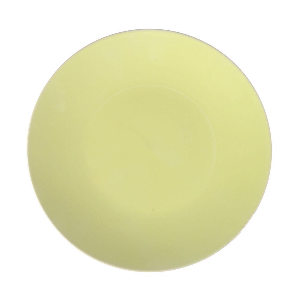 """Тарелка десертная керамическая, 20 см, лайм, дизайн GC, """"Глянец"""""""
