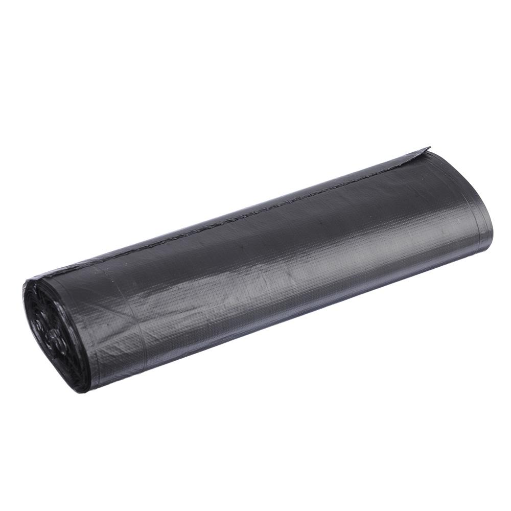 GRIFON Мешки для мусора 120л, 14 мкм, ПНД черные, 10шт в рулоне, 101-008