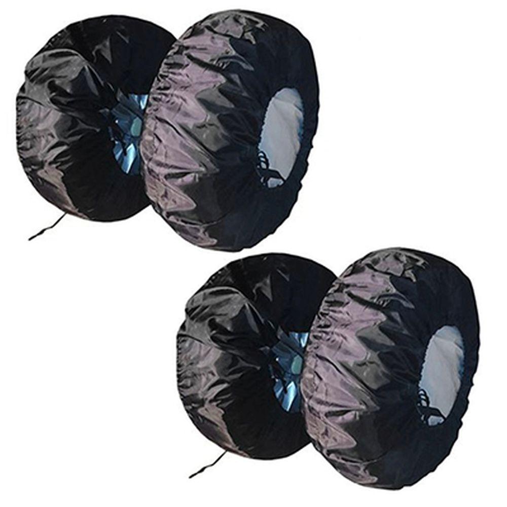 NEW GALAXY Набор чехлов для хранения шин, R13-R17, тентовая ткань, 4шт.