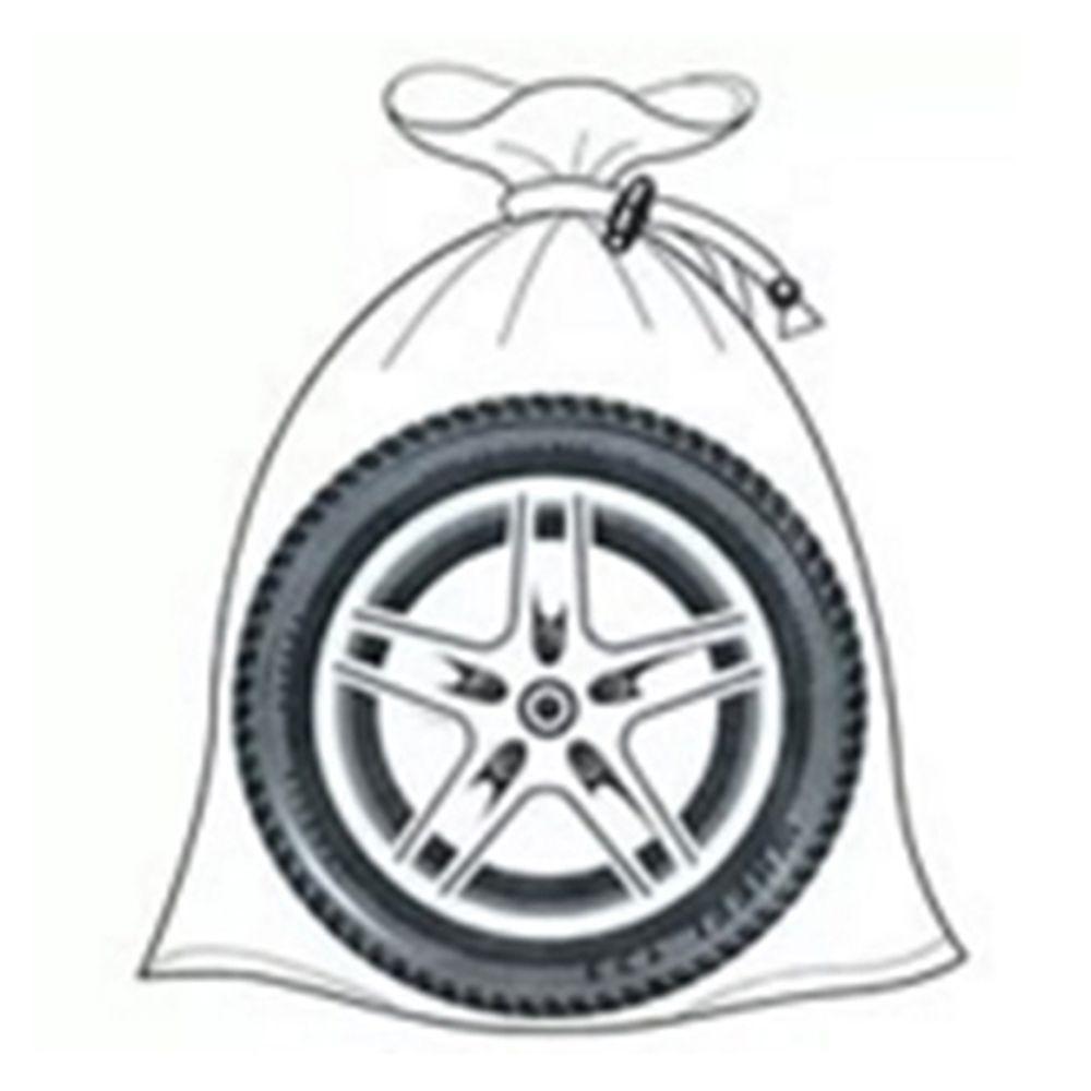 NEW GALAXY Набор мешков для колес на завязках, R13-R22, спандбонд, 4шт.