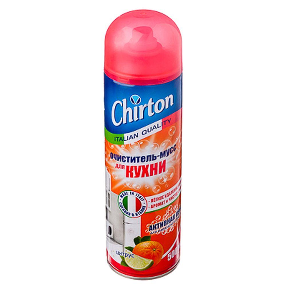 Очиститель-мусс для кухни ЧИРТОН Цитрус 500мл