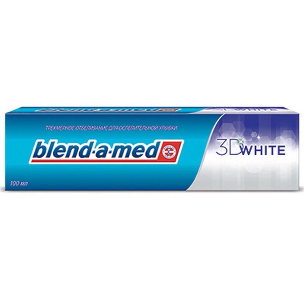Зубная паста BLEND_A_MED 3D White к/у 100мл