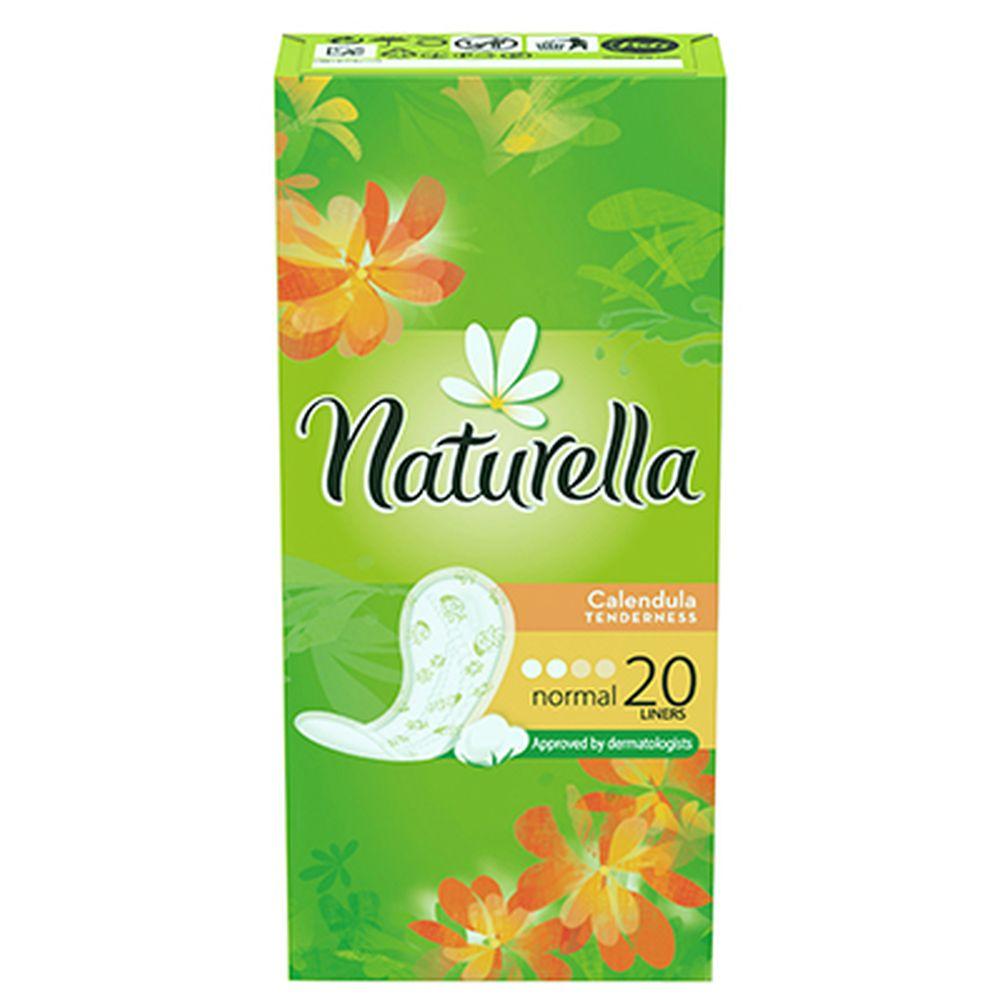 Прокладки гигиенические на каждый день NATURELLA Calendula Tenderness Normal Single к/у 20шт