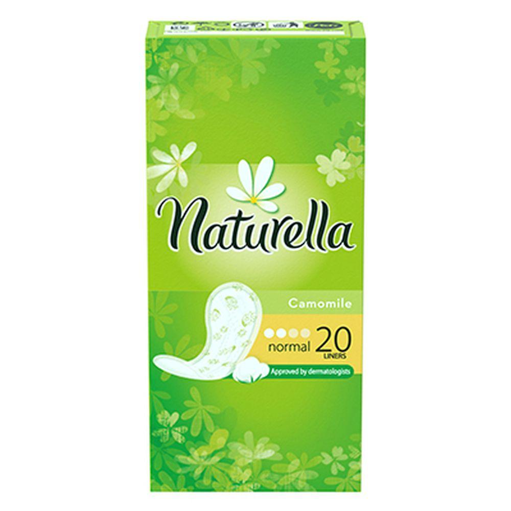 Прокладки гигиенические на каждый день NATURELLA Camomile Normal Deo Single к/у 20шт