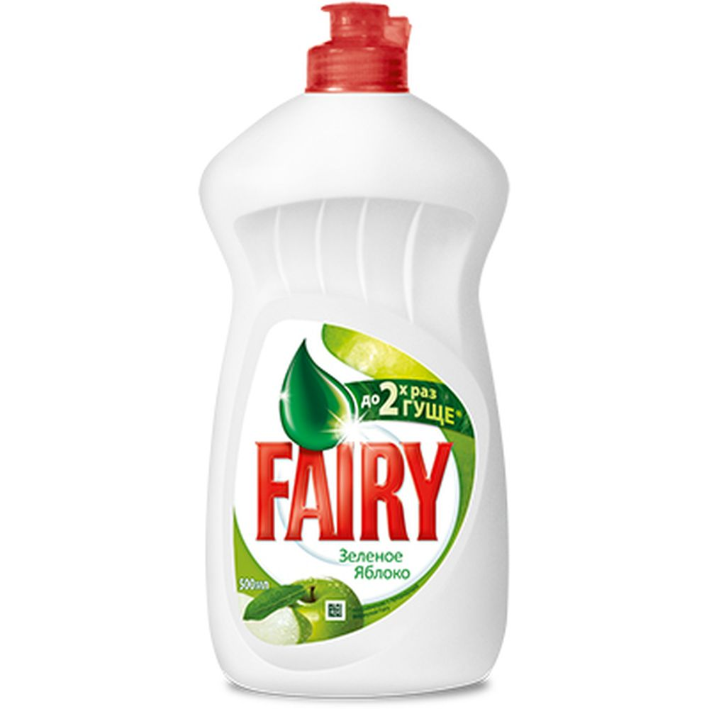 Средство для мытья посуды FAIRY Зеленое яблоко п/б 500мл