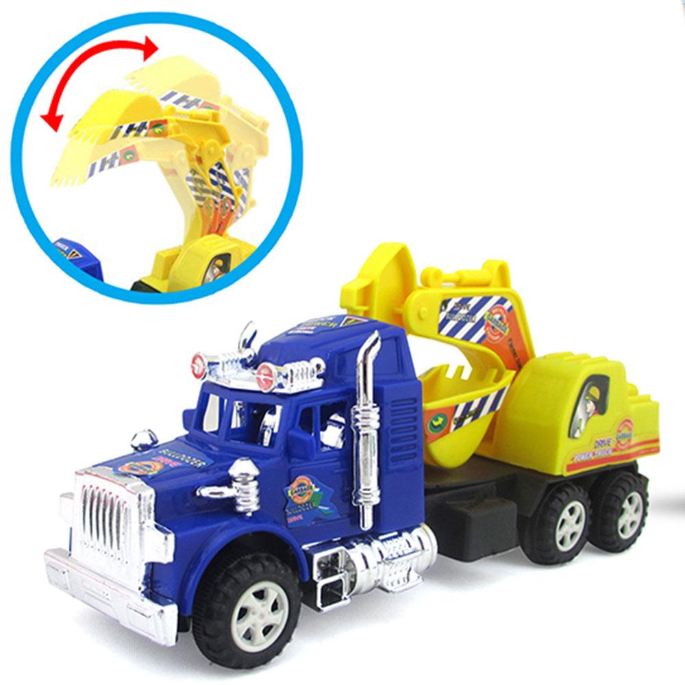 МЕШОК ПОДАРКОВ Машинка фрикционная с подвижным ковшом, пластик, 25,5х14,5х7см