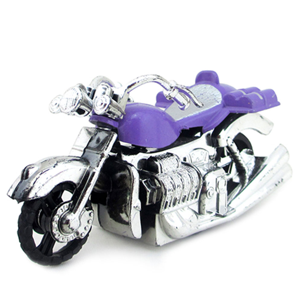 МЕШОК ПОДАРКОВ Мотоцикл инерционный, пластик, 9,5х5х4см, 4 цвета