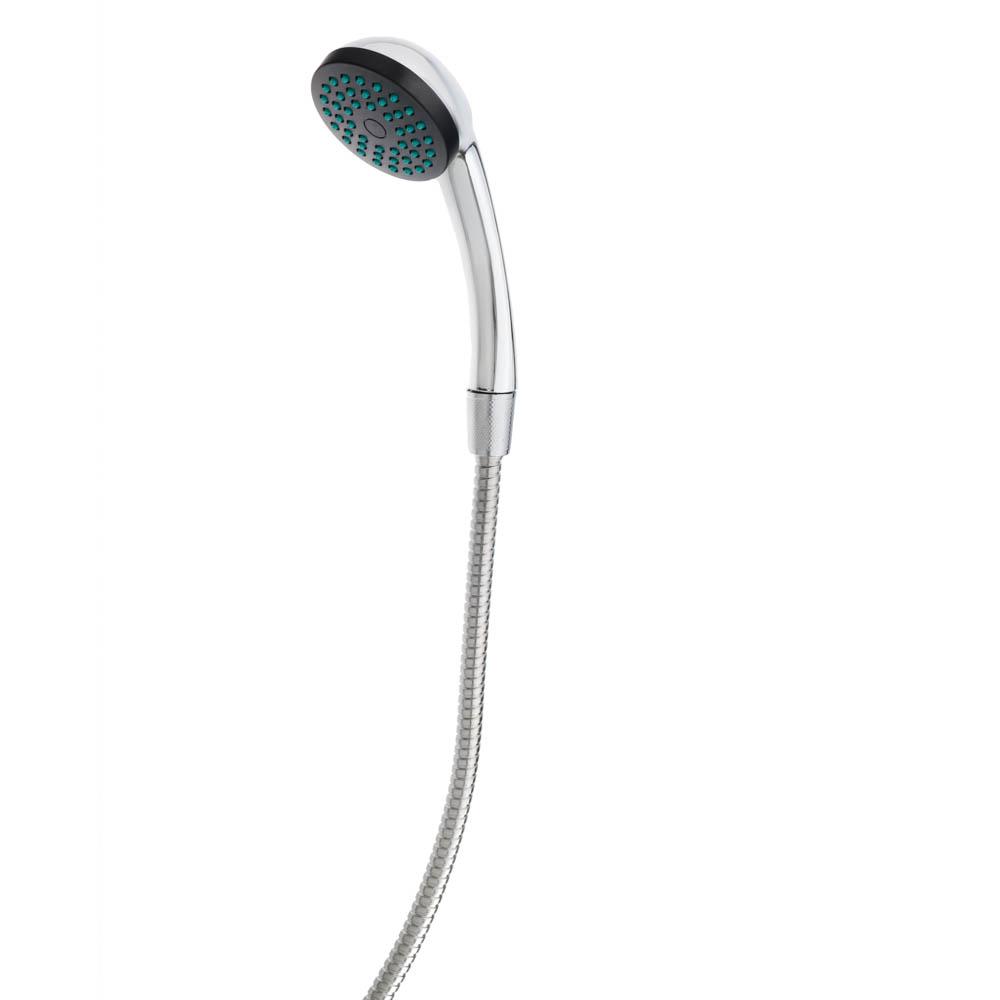 """Смеситель для ванны, длинный излив, керамические кран-буксы 1/2"""", хром, Quartz ECO (Н0010)"""