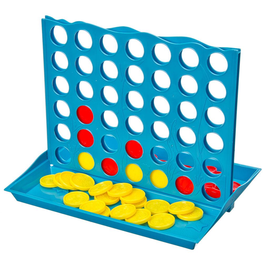 "Настольная игра ""Линия"", пластик, 15,5х14х3,5 см, 6+"