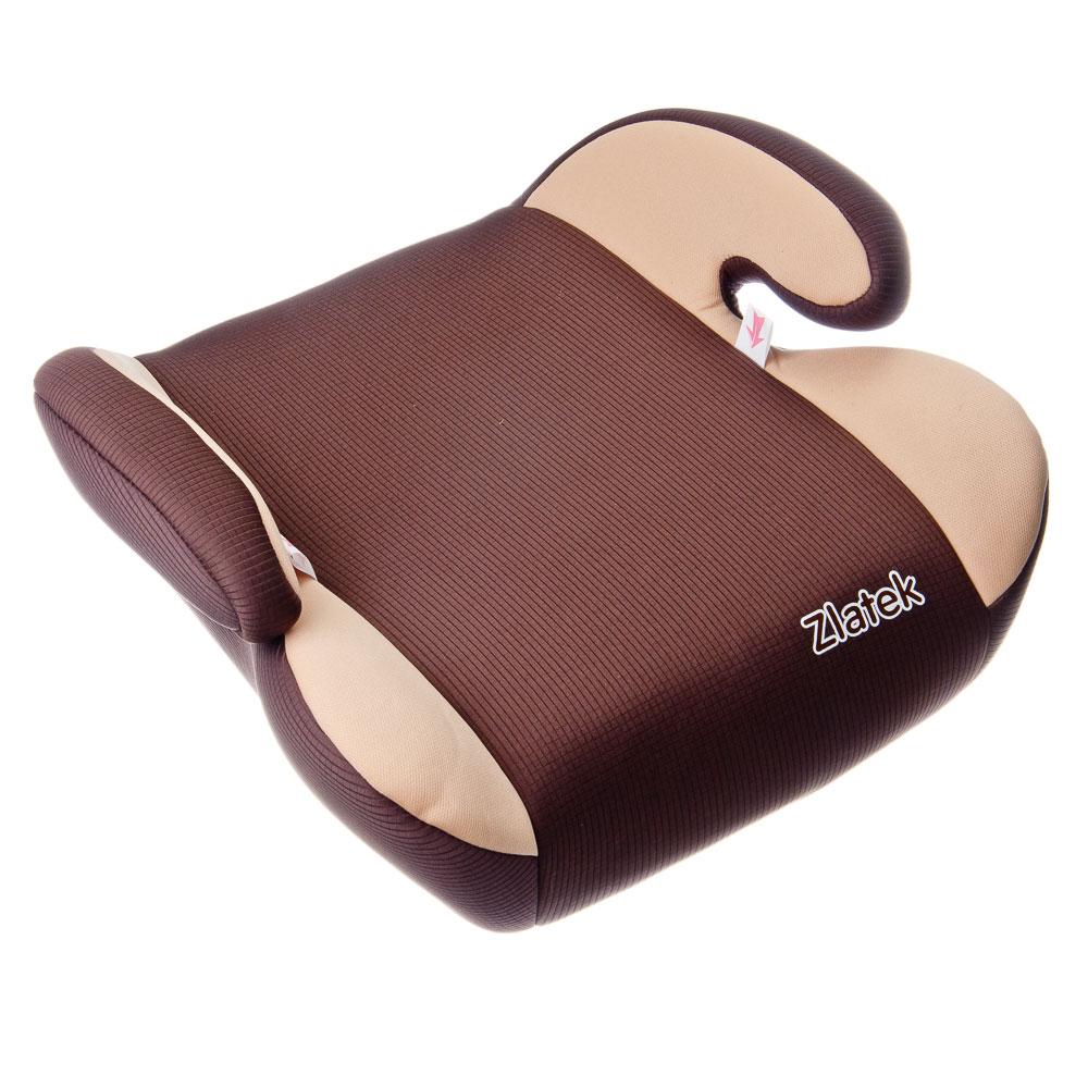 Детское сидение-бустер автомобильный Raft 22-36кг, цвет коричневый