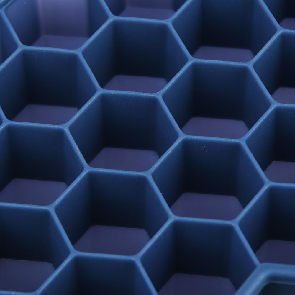 Форма силиконовая для льда СОТЫ, 37 ячеек, 20х12 см