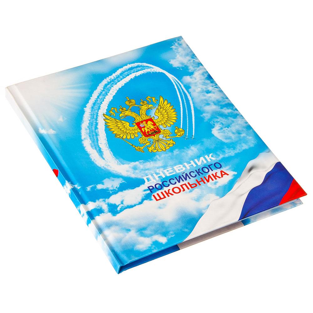 Дневник школьный 48 л. в твердом переплете ДН-1
