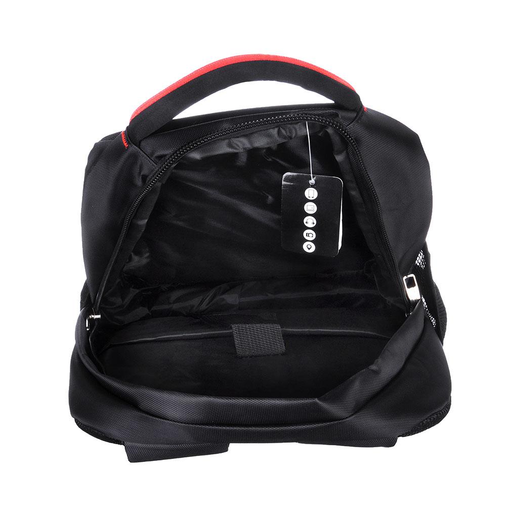Рюкзак для ноутбука 30х42х15см, полиэстер, черный, СВ2016-1