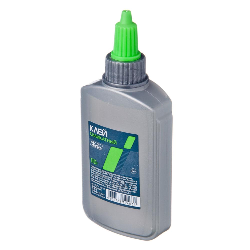Клей силикат. 110 Хатбер 12х5,3х2,5см, арт.110FN_00110