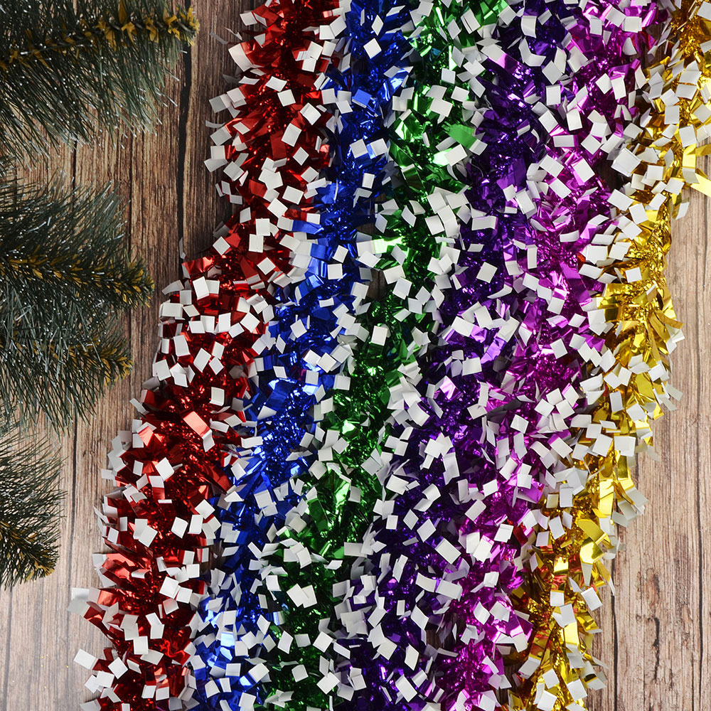 Мишура СНОУ БУМ 200х7см, ПВХ, 6 цветов, арт.11-03