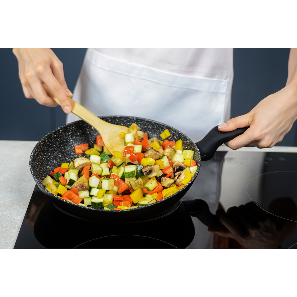 Сковорода литая d. 26 см SATOSHI Стоун, антипригарное покрытие, индукция