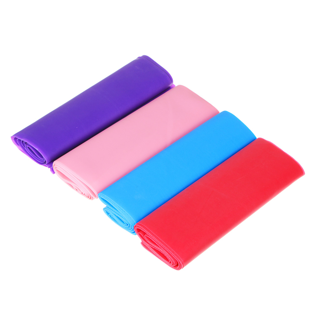 Лента эластичная для йоги и пилатеса, 150х15х0,035 см, 3 цвета, SILAPRO
