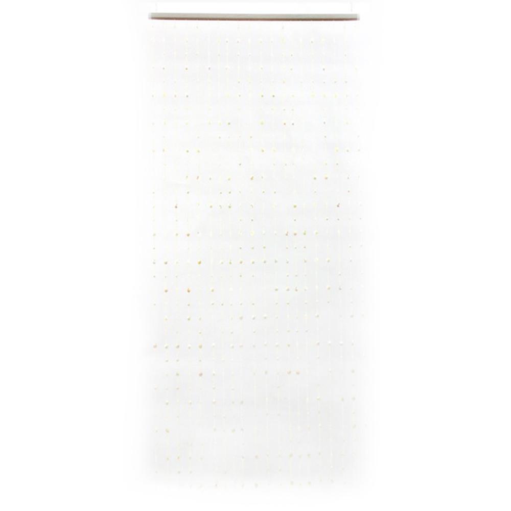 """Занавеска межкомнатная декоративная, пластик, 80x180см """"Кристаллы"""""""