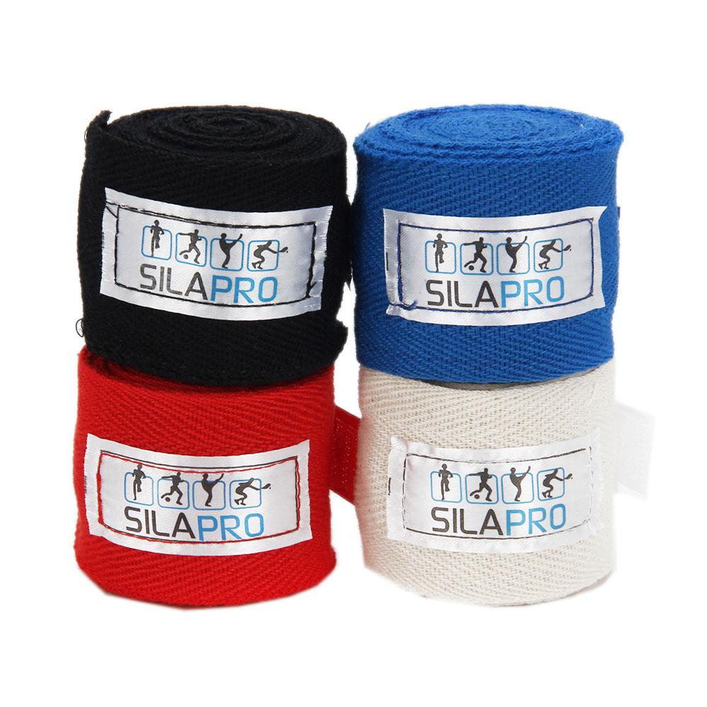 SILAPRO Бинты боксерские, 2,8м, 2шт, хлопок/полиэстер