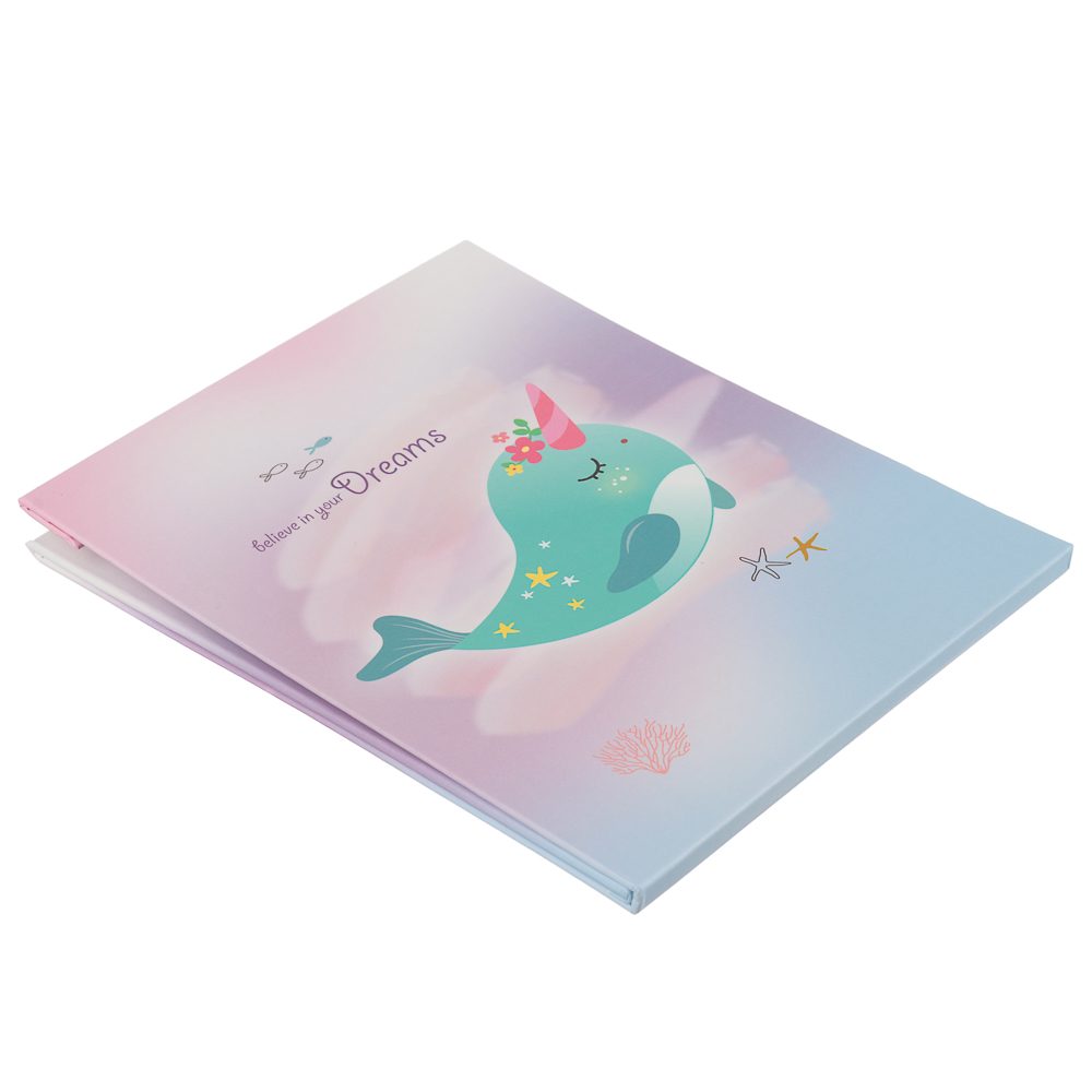 Зеркало настольное трансформер, картон, 13,5x17,2 см, 12 цветов