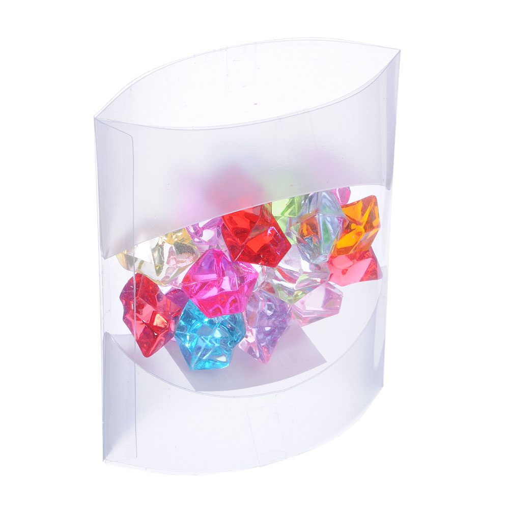 Камни декоративные, акрил, 50 гр., ассорти цветов, арт.9901