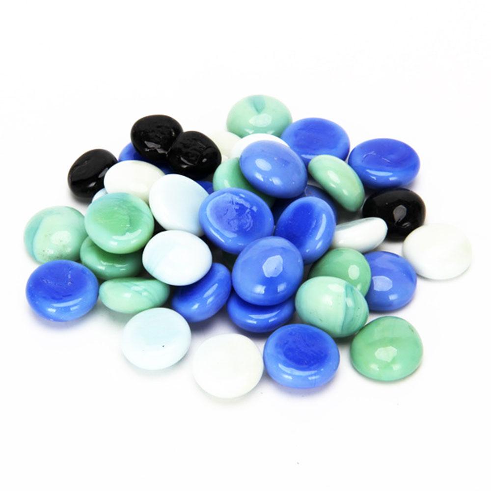 Камни декоративные, стекло, 200 гр., арт.9918
